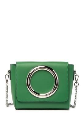 Persaman New York Tammy Leather Crossbody Bag