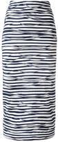 Antonio Marras striped skirt - women - Polyester/Viscose - 38