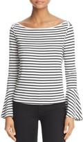 Splendid Striped Bell Sleeve Tee - 100% Exclusive