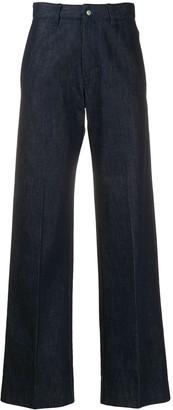 Ami High-Waist Straight-Leg Jeans