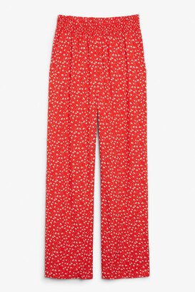 Monki Viscose trousers