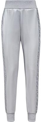 Fendi FF motif logo-print track pants