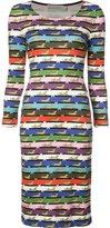 Mary Katrantzou cheetah print Pluto dress - women - Spandex/Elastane/Viscose - 10