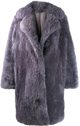 Liska Oversized Fur Coat