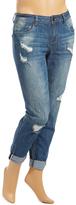 Dollhouse Clooney Distress Boyfriend Jeans - Plus