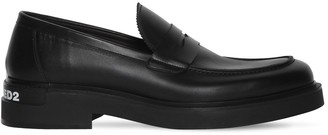 DSQUARED2 40mm Logo Leather Loafers