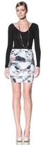 Erik Hart Women's Matte Jersey Mini Skirt