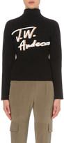 J.W.Anderson Script-print knitted jumper