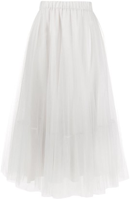 Fabiana Filippi Elasticated Waist Skirt