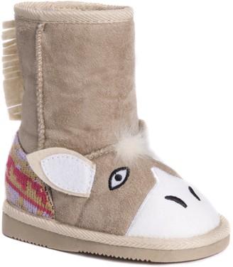 Muk Luks Girls Palo Horse Boots Fashion