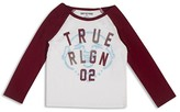 True Religion Boys' Buddha Logo Tee - Sizes 2T-7