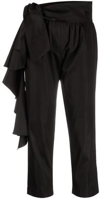 Alchemy Tie-Waist Cropped Trousers