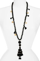Kate Spade Women's Pretty Poms Tassel Necklace