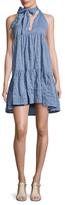 Lisa Marie Fernandez Cotton Mini Baby Doll Dress