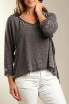 Casual Studio Grey V-Neck Tee