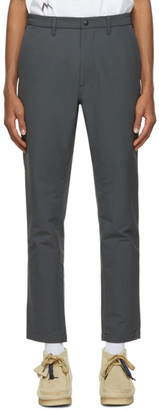 Nanamica Grey Wool Club Trousers