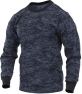 Rothco Long Sleeve T-Shirt - Midnite Digital Camo