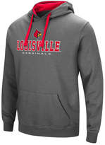 Colosseum Men's Louisville Cardinals 3 Stack Logo Hoodie