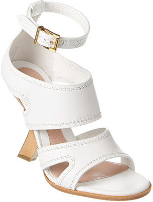 Alexander McQueen No 13 Leather Sandal
