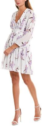 Beulah Accordion Pleated Mini Dress