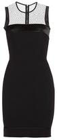 Victoria Beckham Silk And Wool Mini Dress