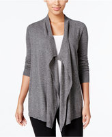 Eileen Fisher Cascading Open-Front Cardigan