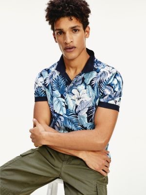 Tommy Hilfiger Tropical Print Regular Fit Polo