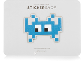 Anya Hindmarch Space Invaders small sticker