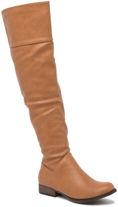 Chase & Chloe Maggy Knee-High Riding Boot