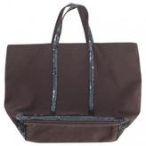 Vanessa Bruno Brown Cloth Handbag Cabas