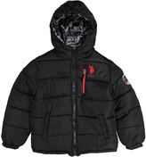 U.S. Polo Assn. Black Puffer Coat - Boys