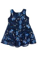 Toddler Girl's Bardot Junior Floral Mesh Dress
