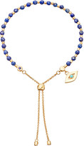 Astley Clarke Evil Eye 18ct yellow-gold vermeil lapis kula bracelet