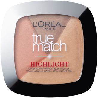 L'Oreal True Match Powder Glow Illuminating Highlighter - Golden Glow 9g