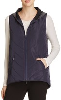 Elie Tahari Amy Combo Quilted Vest