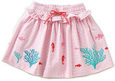 Copper Key Adventure Wear by Little Girls 2T-4T Embroidered Skirt