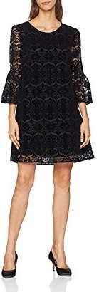 Derhy Women's DALMATIEN Party Dress, (Noir 6), (Sizes: Large)
