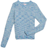 Design History Girls Girl's Multicolored Knit Sweater, Size S-XL