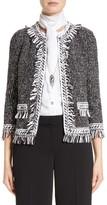 St. John Women's Speckled Tweed Jacket
