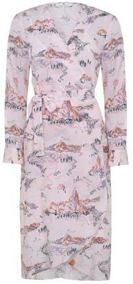 Paul Smith PS BY  Midi Print Dress