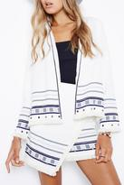 MinkPink Moonstruck Trim Jacket