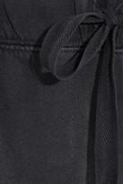 Current/Elliott The Vintage cotton-jersey track pants
