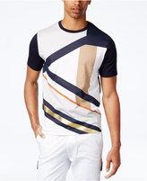 Sean John Men's Slanted Gold Foil Impulse T-Shirt