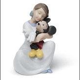 Nao Porcelain I Love You Mickey Figurine