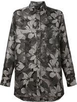 Ami Alexandre Mattiussi floral print oversized shirt
