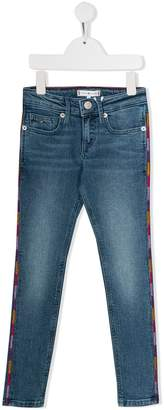 Tommy Hilfiger Junior embroidered skinny jeans