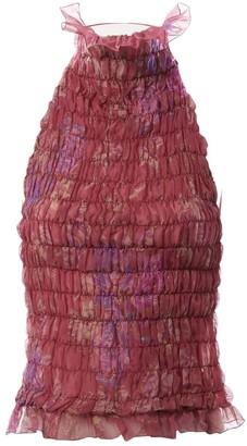Ungaro Pink Silk Tops