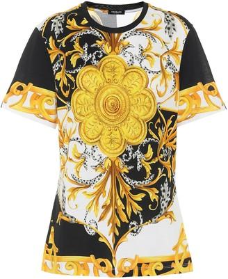 Versace Barocco Acanthus cotton T-shirt