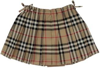 Burberry Mini Pearl Skirt