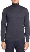 BOSS Men's 'Musso' Slim Fit Merino Wool Turtleneck Sweater
